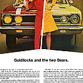 1967 Plymouth Gtx - Goldilocks And The Two Bears. by Digital Repro Depot