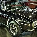 1967 Pontiac Firebird 400 Reverse Selective Color by John Straton