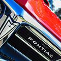 1967 Pontiac Firebird Grille Emblem by Jill Reger