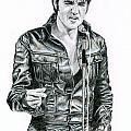 1968 Black Leather Suit by Rob De Vries