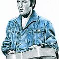 1968 Blue Denim Suit by Rob De Vries
