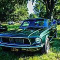 1968 Bullitt Mustang by Grace Grogan