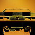 1968 Camaro Ss  Full Rear by Bob Orsillo