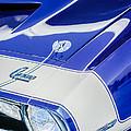 1968 Chevrolet Yenko Super Camaro Emblem -0653c by Jill Reger