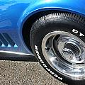 1968 Corvette Sting Ray - Blue - Side - 8923 by Gary Gingrich Galleries