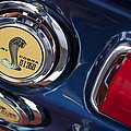 1968 Ford Mustang - Shelby Cobra Gt 350 Taillight And Gas Cap by Jill Reger
