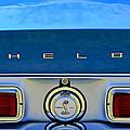 1968 Ford Shelby Gt500 Kr Convertible Rear Emblems by Jill Reger