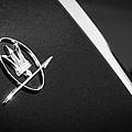 1968 Maserati Ghibli Emblem by Jill Reger