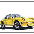 1968 Porsche Targa by Jack Pumphrey