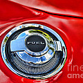 1969 Charger Fuel Cap by Paul Ward