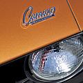 1969 Chevrolet Camaro Headlight Emblem by Jill Reger