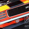 1969 Chevrolet Camaro Rs - Orange - Front End 7550 by Gary Gingrich Galleries