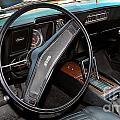 1969 Chevrolet Camaro Rs - Orange - Interior - 7601 by Gary Gingrich Galleries