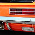 1969 Chevrolet Camaro Rs - Orange - Rear End - 7609 by Gary Gingrich Galleries