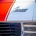 1969 Chevrolet Camaro Rs-ss Indy Pace Car Replica Hood Emblem by Jill Reger