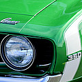 1969 Chevrolet Camaro Ss Headlight Emblems by Jill Reger