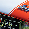 1969 Chevrolet Camaro Z-28 Emblem by Jill Reger