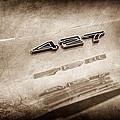 1969 Chevrolet Corvette 427 Emblem by Jill Reger