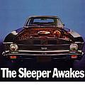 1969 Chevy Nova Ss - The Sleeper Awakes by Digital Repro Depot