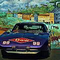 1969 Dodge Daytona Stock Car Replica by Tim McCullough