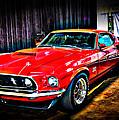 1969 Ford Boss 429 Mustang by Gavin Baker