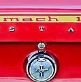 1969 Ford Mustang Mach 1 Rear Emblems by Jill Reger