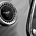 1969 Ford Mustang Mach 1 Side Emblem by Jill Reger