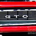 1969 Gto Grill by Scott B Bennett
