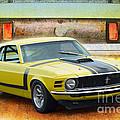 1970 Boss 302 Mustang by Stuart Row