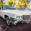 1970 Cadillac Coupe Deville Convertible Painted  by Rich Franco
