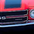 1970 Chevrolet El Camino Ss Grille Emblem by Jill Reger