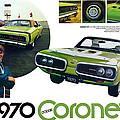 1970 Dodge Coronet R/t by Digital Repro Depot