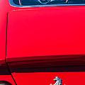 1970 Ferrari 365 Gtb-4 Daytona Berlinetta Taillight Emblem -1482c by Jill Reger