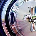 1970 Ford Mustang Mach 1 Emblem by Jill Reger