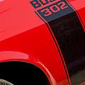 1970 Ford Mustang Sportsroof Boss 302 Emblem by Jill Reger