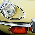 1970 Jaguar Xk Type-e Headlight by Jill Reger