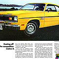 1970 Plymouth Duster 340 by Digital Repro Depot
