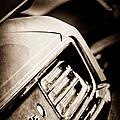 1970 Pontiac Barracuda Cuda Taillight Emblem by Jill Reger