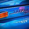 1970 Toyota Land Cruiser Fj40 Hardtop Emblem by Jill Reger