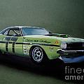 1970's Challenger Race Car by Paul Kuras