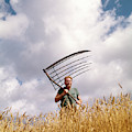1970s Man Farmer Field Hand Wearing by Vintage Images