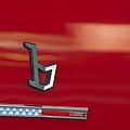 1971 Alfa Romeo Montreal Emblem by Jill Reger