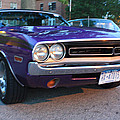 1971 Challenger Front And Side View by John Telfer
