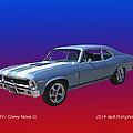1971 Chevy Nova S S by Jack Pumphrey