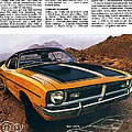 1971 Dodge Demon 340 by Digital Repro Depot