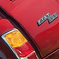 1971 Fiat 500 Jolly Taillight by Jill Reger
