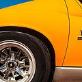 1971 Lamborghini Miura Sv Wheel Emblem -0390c by Jill Reger
