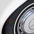 1971 Mercedes-benz Wheel Emblem by Jill Reger