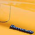 1971 Plymouth Barracuda Convertible Hood Emblem by Jill Reger