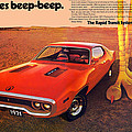 1971 Plymouth Road Runner by Digital Repro Depot